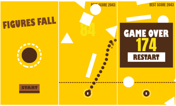 Figures fall Game